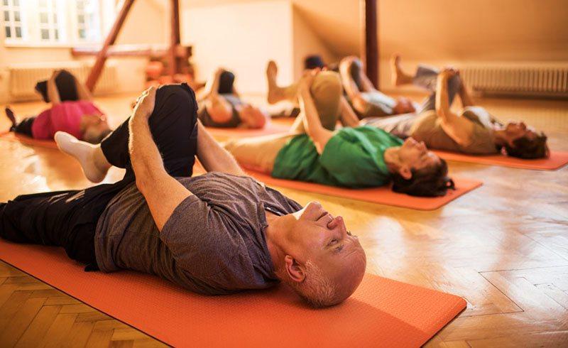 Người bệnh suy bệnh nên thường xuyên tập yoga, ngồi thiền